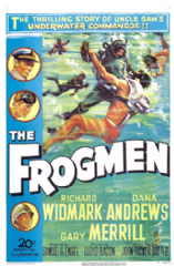 The Frogmen 1951 DVD - Richard Widmark / Dana Andrews